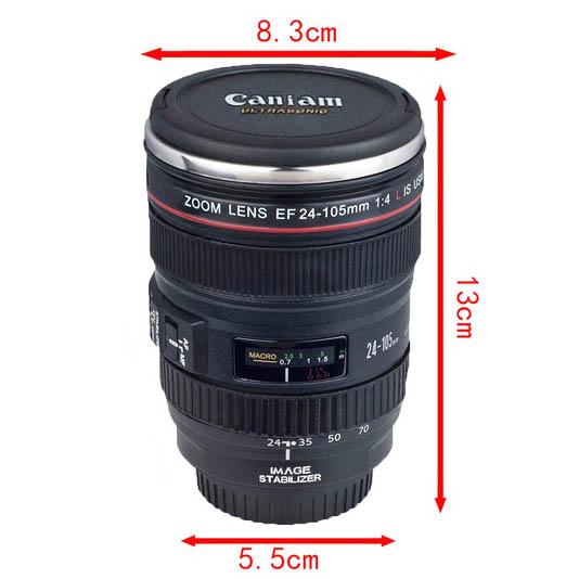 Kaffekopp Kameralinse Mål