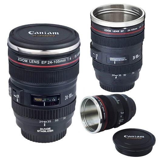 Kaffekopp Kameralinse