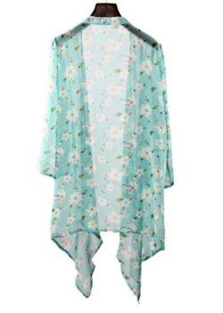 Kimono Blomstret 4